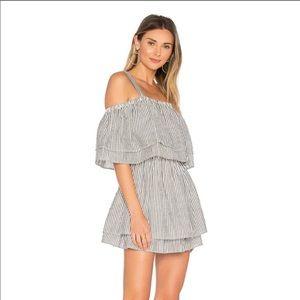 Tularosa | Bay Black/White Stripe Dress Small